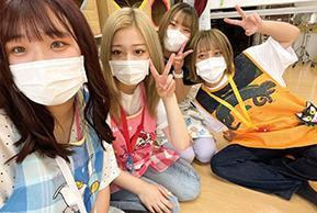 姫小松さんと友達の写真